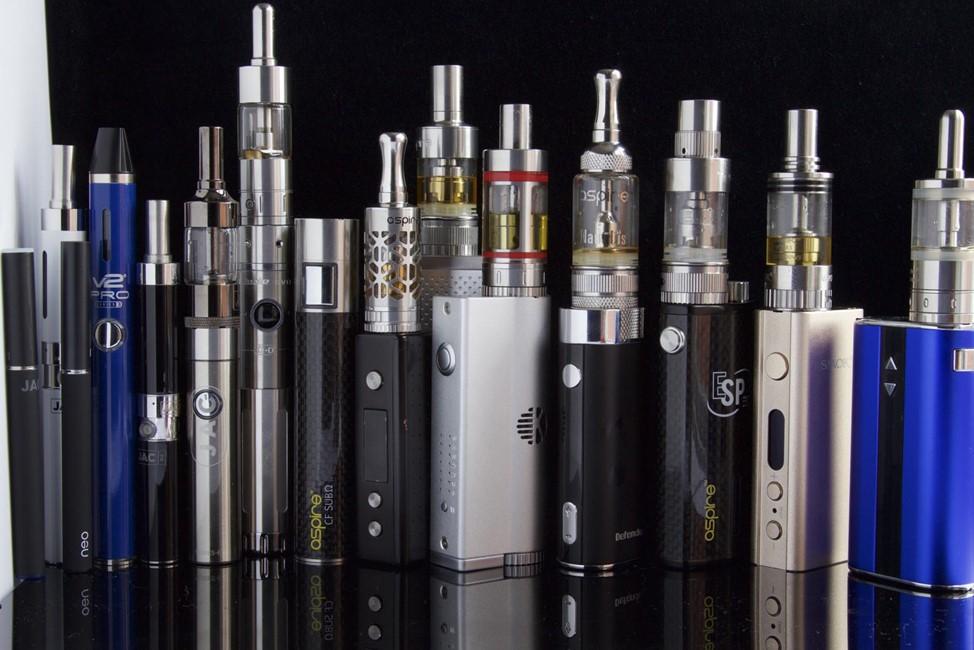 Различные виды испарителей для электронных сигарет