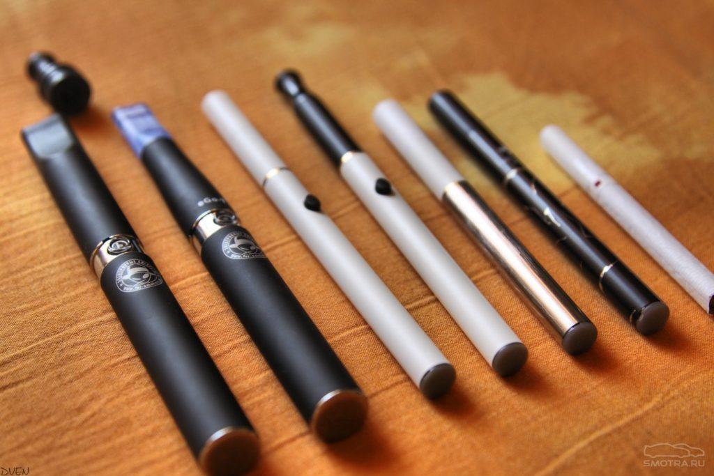 Какие виды электронных сигарет бывают и их особенности